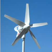 werking windturbine