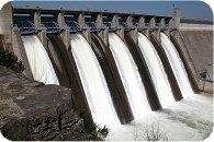 waterkrachtcentrale en waterenergie opwekken